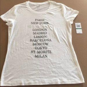 NWT Women's Michael Kors Destination T-shirt 0X
